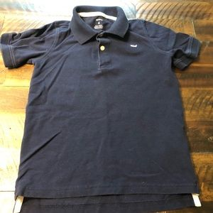 Carter's Boys Size 6 Navy short sleeve polo